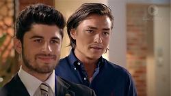 Brandon Danker, Leo Tanaka in Neighbours Episode 7838