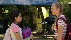 Kirsha Rebecchi, Poppy Ryan in Neighbours Episode 7839