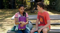 Kirsha Rebecchi, Jimmy Williams in Neighbours Episode 7839