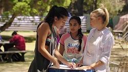 Yashvi Rebecchi, Kirsha Rebecchi, Xanthe Canning in Neighbours Episode 7839