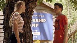 Poppy Ryan, Jimmy Williams in Neighbours Episode 7839