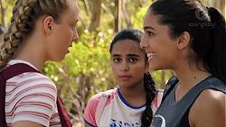Poppy Ryan, Kirsha Rebecchi, Yashvi Rebecchi in Neighbours Episode 7839