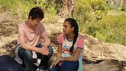Susan Kennedy, Kirsha Rebecchi in Neighbours Episode 7839