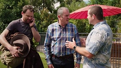 Shane Rebecchi, Karl Kennedy, Toadie Rebecchi in Neighbours Episode 7840
