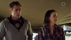 Aaron Brennan, Amy Williams in Neighbours Episode 7840