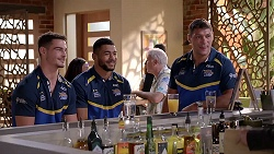Stevie Ward, Kallum Watkins, Ryan Hall in Neighbours Episode 7841