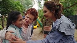 Kirsha Rebecchi, Susan Kennedy, Dipi Rebecchi in Neighbours Episode 7841