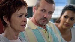 Susan Kennedy, Toadie Rebecchi, Dipi Rebecchi in Neighbours Episode 7842