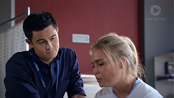 David Tanaka, Xanthe Canning in Neighbours Episode 7842