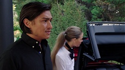 Leo Tanaka, Chloe Brennan in Neighbours Episode 7842