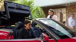 Leo Tanaka, Chloe Brennan in Neighbours Episode 7843
