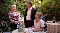 Sheila Canning, Paul Robinson, Steph Scully in Neighbours Episode 7843