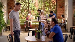 Mark Brennan, Fay Brennan, Aaron Brennan in Neighbours Episode 7843