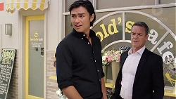 Leo Tanaka, Paul Robinson in Neighbours Episode 7843