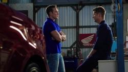 Aaron Brennan, Mark Brennan in Neighbours Episode 7843