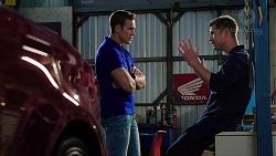 Aaron Brennan, Mark Brennan in Neighbours Episode 7844