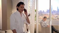 Leo Tanaka, Paul Robinson in Neighbours Episode 7844