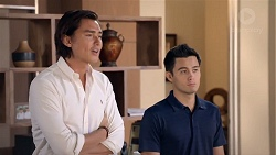 Leo Tanaka, David Tanaka in Neighbours Episode 7844