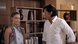Chloe Brennan, Leo Tanaka in Neighbours Episode 7844