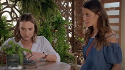 Amy Williams, Elly Conway in Neighbours Episode 7845