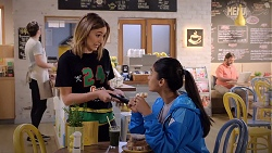 Piper Willis, Yashvi Rebecchi in Neighbours Episode 7845