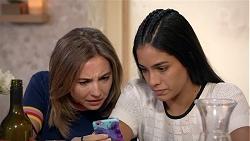 Piper Willis, Yashvi Rebecchi in Neighbours Episode 7846