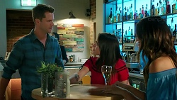 Mark Brennan, Bea Nilsson, Elly Conway in Neighbours Episode 7847