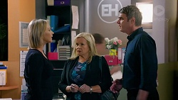 Steph Scully, Sheila Canning, Gary Canning in Neighbours Episode 7847