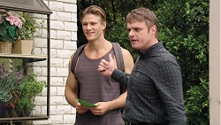 Cassius Grady, Gary Canning in Neighbours Episode 7848