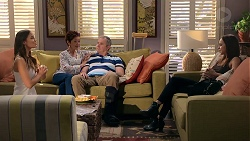 Elly Conway, Susan Kennedy, Karl Kennedy, Bea Nilsson in Neighbours Episode 7848