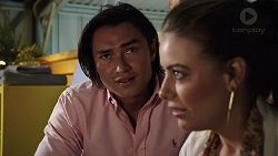 Leo Tanaka, Chloe Brennan in Neighbours Episode 7848