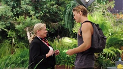 Sheila Canning, Cassius Grady in Neighbours Episode 7848