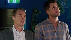 Paul Robinson, Mark Brennan in Neighbours Episode 7848