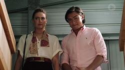 Chloe Brennan, Leo Tanaka in Neighbours Episode 7848