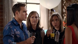Aaron Brennan, Fay Brennan, Piper Willis, Mishti Sharma in Neighbours Episode 7849