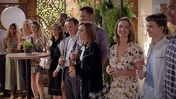 Fay Brennan, Paul Robinson, Mark Brennan, Piper Willis, Amy Williams, Jimmy Williams, Liam Barnett in Neighbours Episode 7849