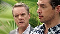 Paul Robinson, Liam Barnett in Neighbours Episode 7849