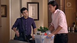 David Tanaka, Leo Tanaka in Neighbours Episode 7849
