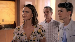 Amy Williams, Paul Robinson, Jimmy Williams in Neighbours Episode 7850