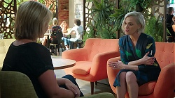 Steph Scully, Philippa Hoyland in Neighbours Episode 7853