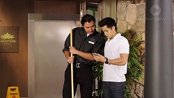 Leo Tanaka, David Tanaka in Neighbours Episode 7854