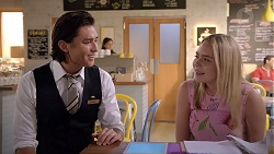 Leo Tanaka, Xanthe Canning in Neighbours Episode 7855