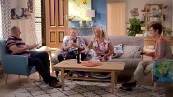 Karl Kennedy, Clive Gibbons, Sheila Canning, Susan Kennedy in Neighbours Episode 7855