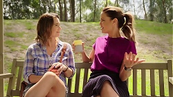 Amy Williams, Elly Conway in Neighbours Episode 7856