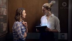 Amy Williams, Chloe Brennan in Neighbours Episode 7856