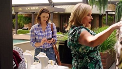 Amy Williams, Sheila Canning in Neighbours Episode 7856