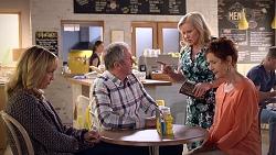 Rita Newland, Karl Kennedy, Sheila Canning, Susan Kennedy in Neighbours Episode 7856