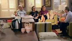 Karl Kennedy, Bea Nilsson, Elly Conway, Toadie Rebecchi in Neighbours Episode 7857