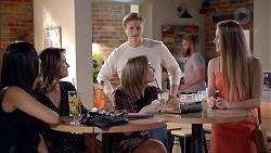 Mishti Sharma, Amy Williams, Cassius Grady, Piper Willis, Chloe Brennan in Neighbours Episode 7858