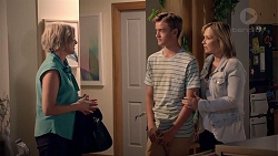 Philippa Hoyland, Charlie Hoyland, Steph Scully in Neighbours Episode 7858